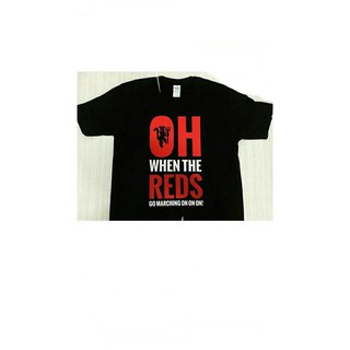 49994564a Premium Kaos Tshirt Baju Combed 30S Distro Mu Manchester United Oh The Reds