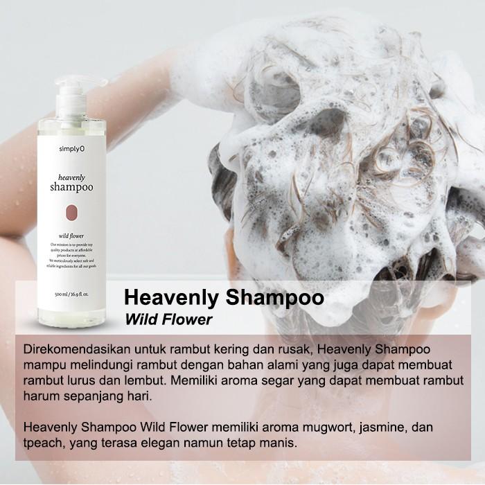 [HMART] SimplyO Heavenly Shampoo-5