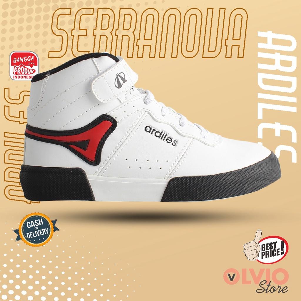 Ardiles SERRANOVA - Sepatu Sneakers/Sekolah/Gaul Casual Anak Ardiles Original