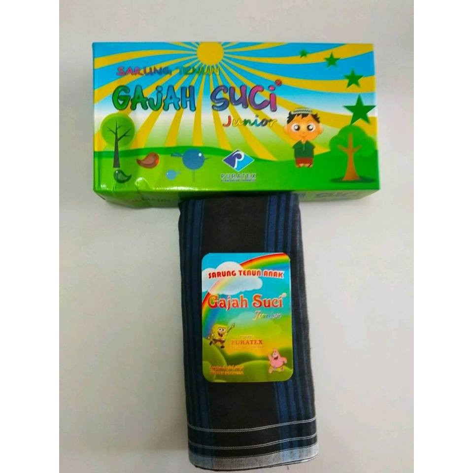 Sarung Gajah Suci Junior Shopee Indonesia Cap