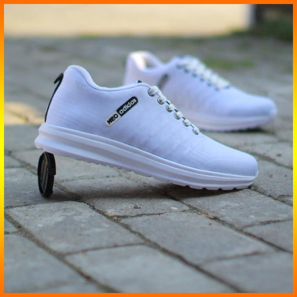 Sepatu Adidas Neo Full Putih Shopee Indonesia