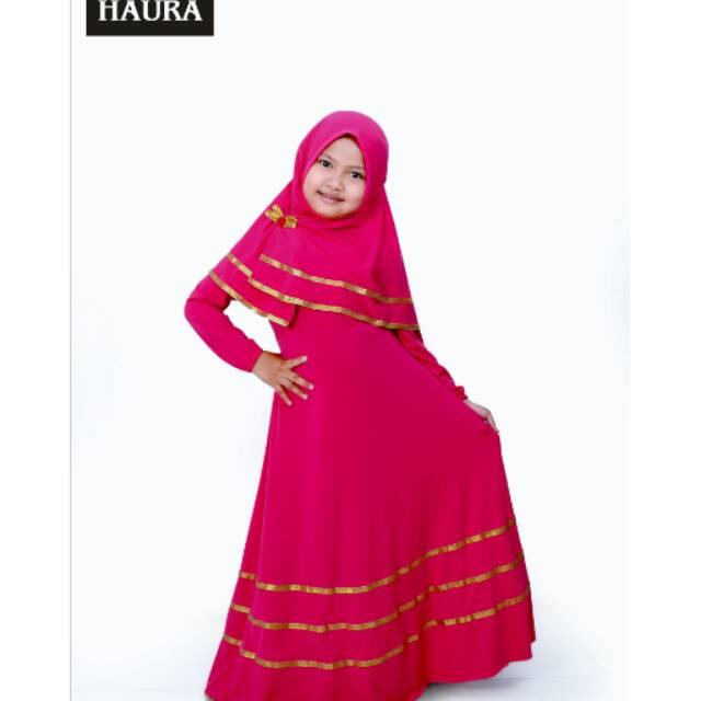 Baju muslim gamis anak perempuan   gamis polos  d620885540