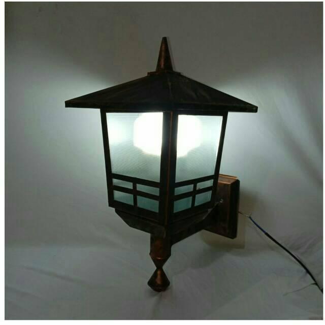 Model Lampu Hias Minimalis Teras Luar Rumah