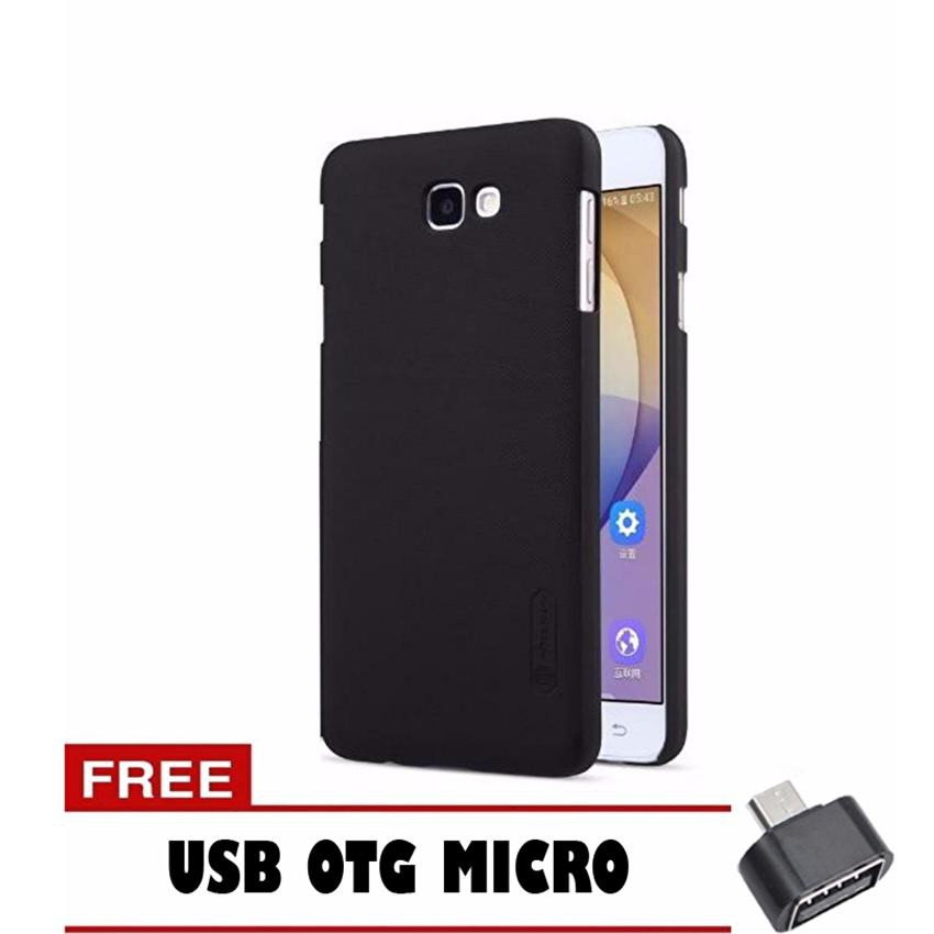 Nillkin Frosted Hard Case For Samsung Galaxy J7 Prime Hitam Free Usb Otg Micro Shopee Indonesia