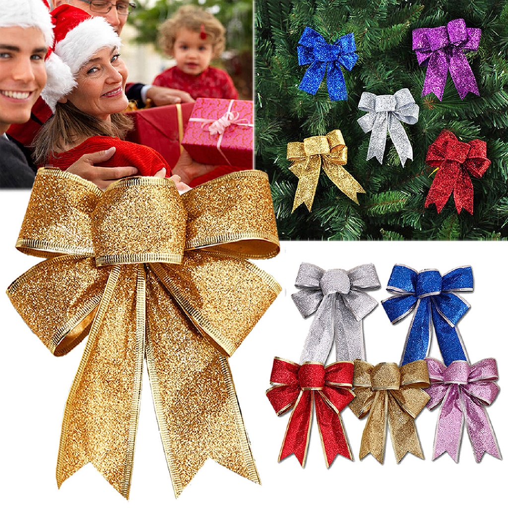Bows Ribbon Bowknot Christmas Tree