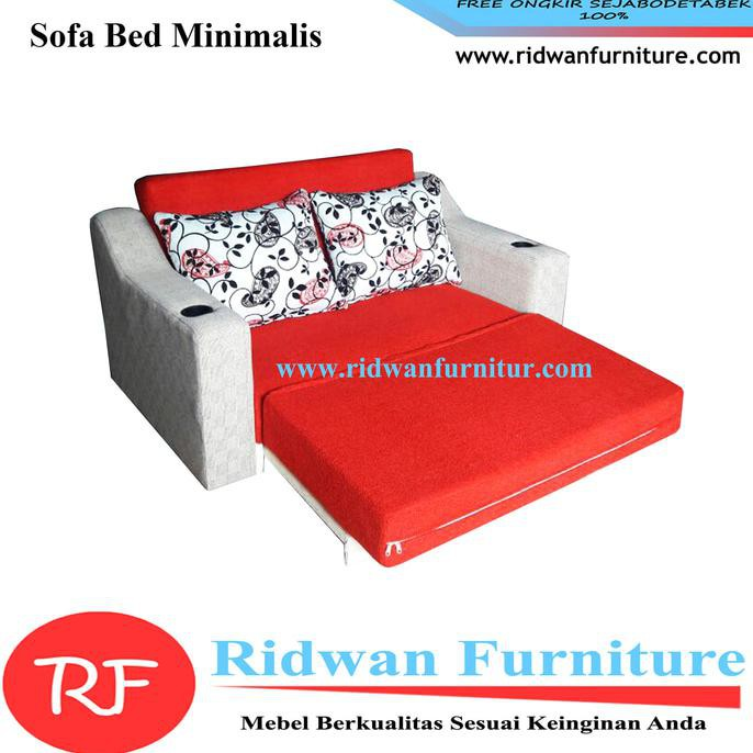 Sofa Bed MInimalis 2 Dudukan Model Tangan Prosotan | Shopee Indonesia