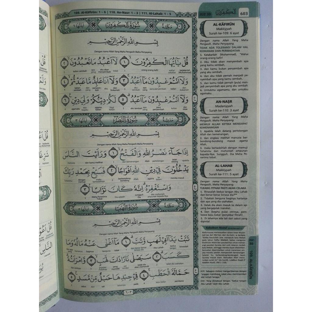Al Quran Terjemah Perkata Warna Ar Riyadh Ukuran A5 Shopee
