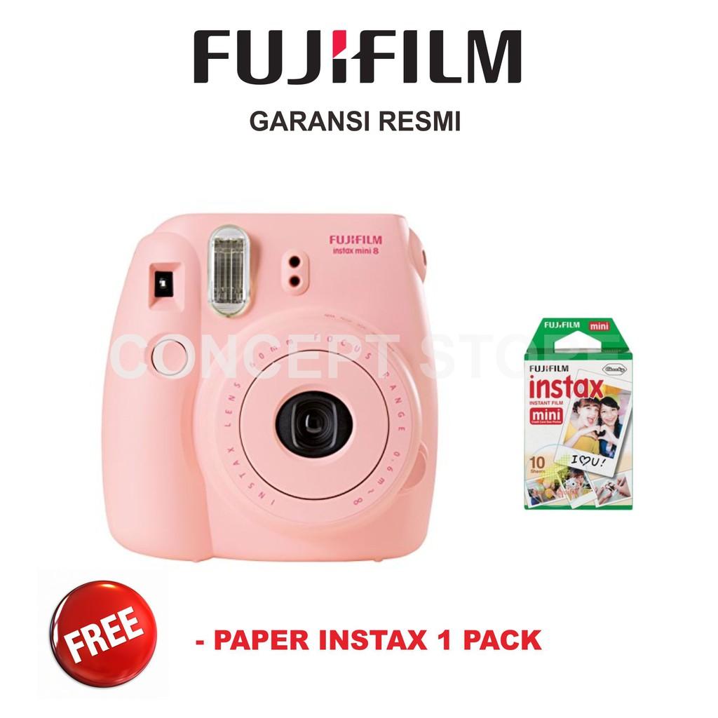 Fujifilm Refill Instax Mini Film Twinpack Plain 20 Lembar For Wide Monochrome Single 8 9 25s 50s 90 Sp Shopee Indonesia