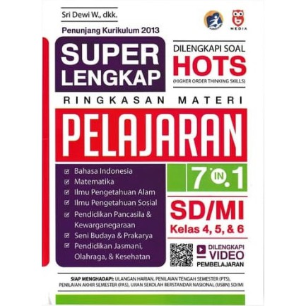 Super Lengkap Ringkasan Materi Pelajaran Sd Mi Kelas 4 5 6 Shopee Indonesia