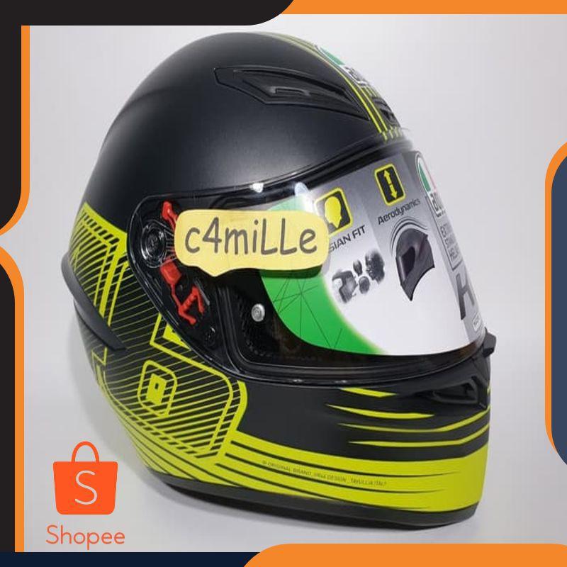 AGV Helmets K1 E2205 Top Flavum 46 S