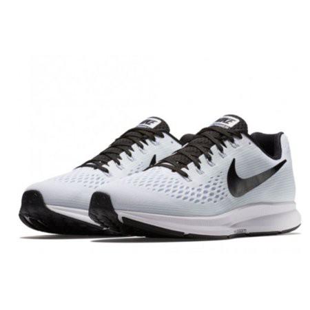 Sepatu Nike Air Zoom Pegasus 34 Grey Black Sneakers