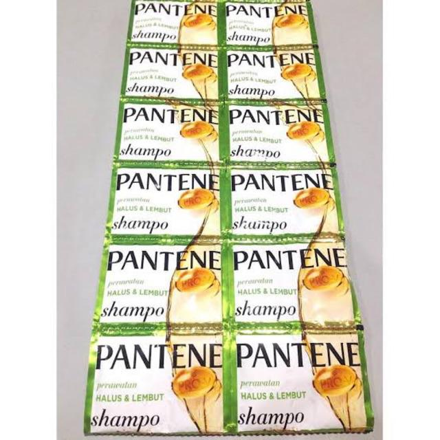 ☘️ MUMTAAZZTORE ☘️ P&G Pantene Shampo Pentin Shampoo RENCENG | 24 SACHET-Halus & Lembut
