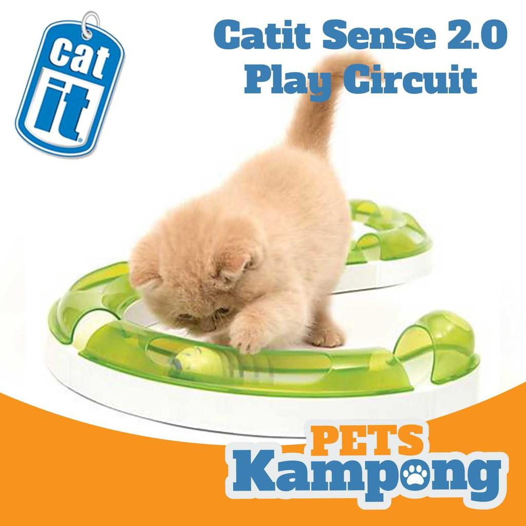 Mainan Hewan Mainan Kucing Catit Senses 2 0 Play Circuit Shopee Indonesia