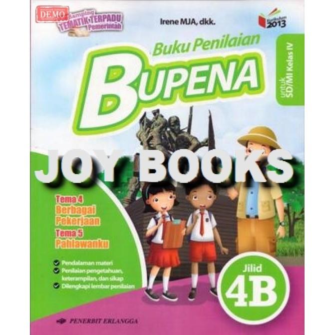 Bupena 4a 4b 4c 4d Revisi 2016 Erlangga Buku Soal Tematik Sd Kelas 4 Shopee Indonesia