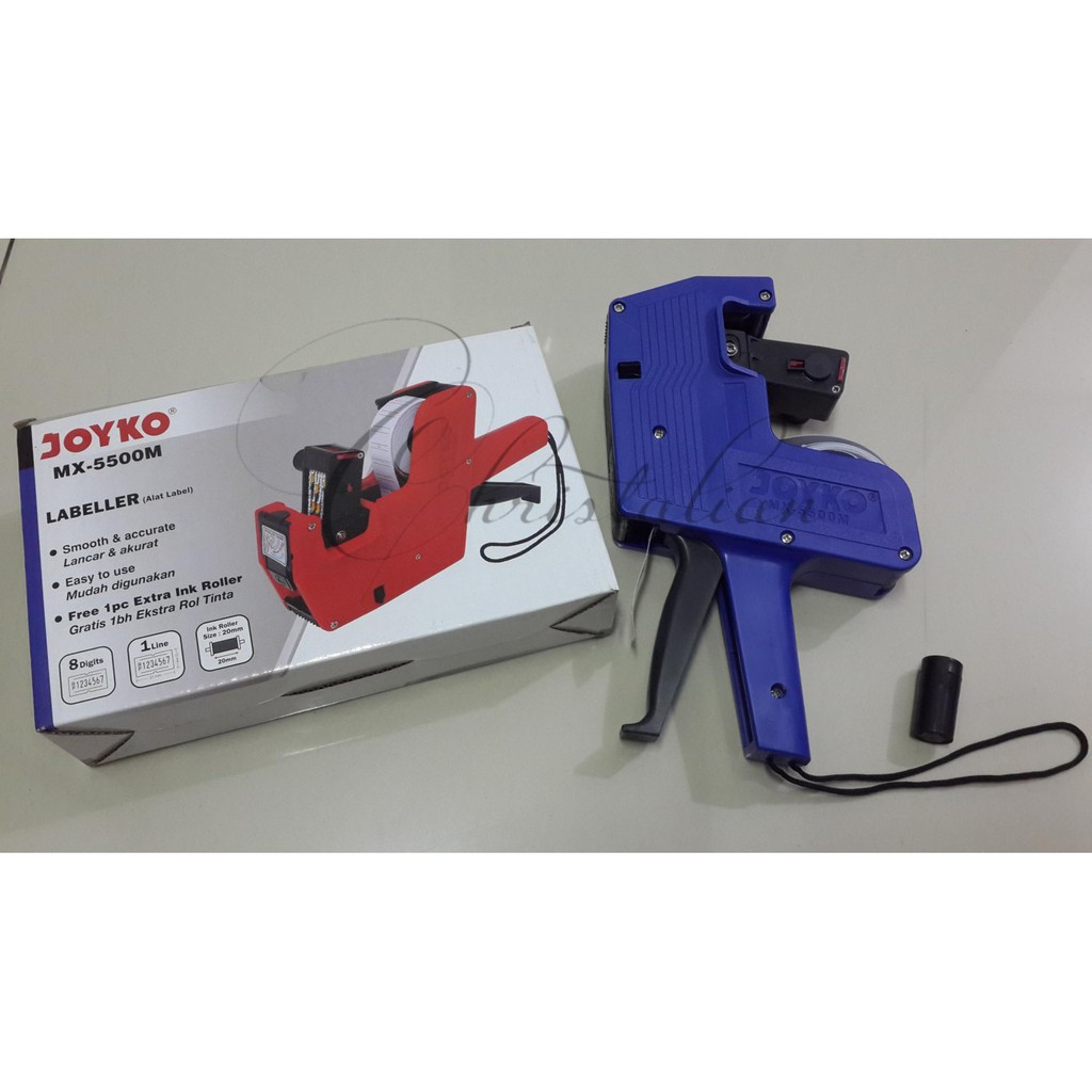 Price Labeller Joyko Mx 5500m Label Harga Stiker Shopee Mesin Tembak Alat  1 Baris 5500mx Fast Delivery Indonesia
