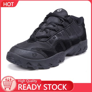 Outdoor hiking men's shoes military enthusiasts combat boots tactical