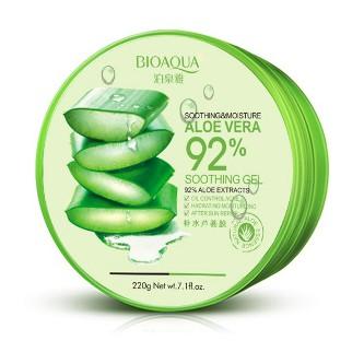 Bioaqualoe Vera 92 Soothing Gel Cream Krim Gel Lidah Buaya 220gr Shopee Indonesia