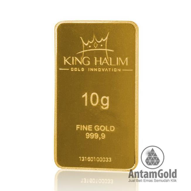 Emas King Halim 10 Gram Shopee Indonesia