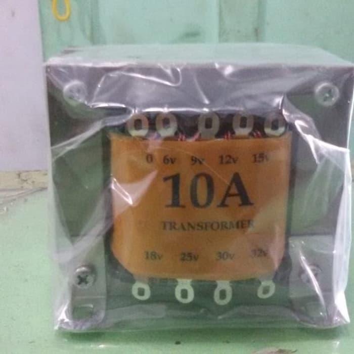 Unik Trafo Standard 10A Amper Kecil 0 - 32V Murah