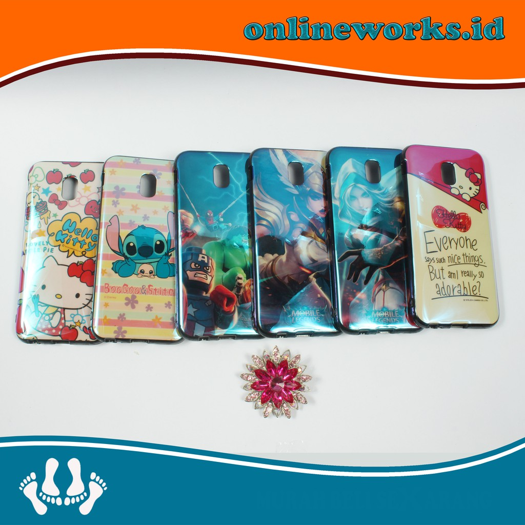 "SOFTCASE FUZE GLASS ""ANIMALS COLLECTION"" SOFT CASE SAMSUNG XIOAMI OPPO VIVO 