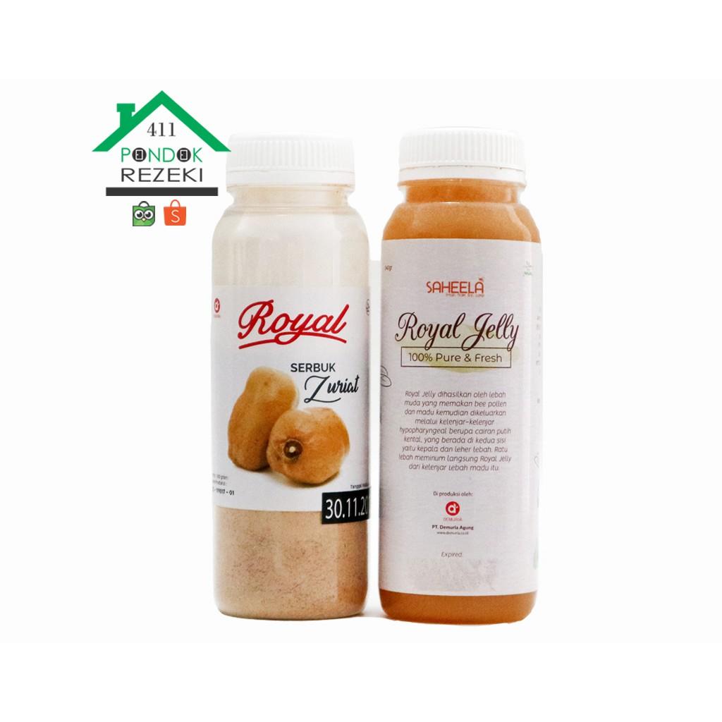 Paket Promil Serbuk Zuriat 100 Gram Madu Murni 340 Shopee Xamthone Baby Products Plus The First Mangosteen Juice Indonesia