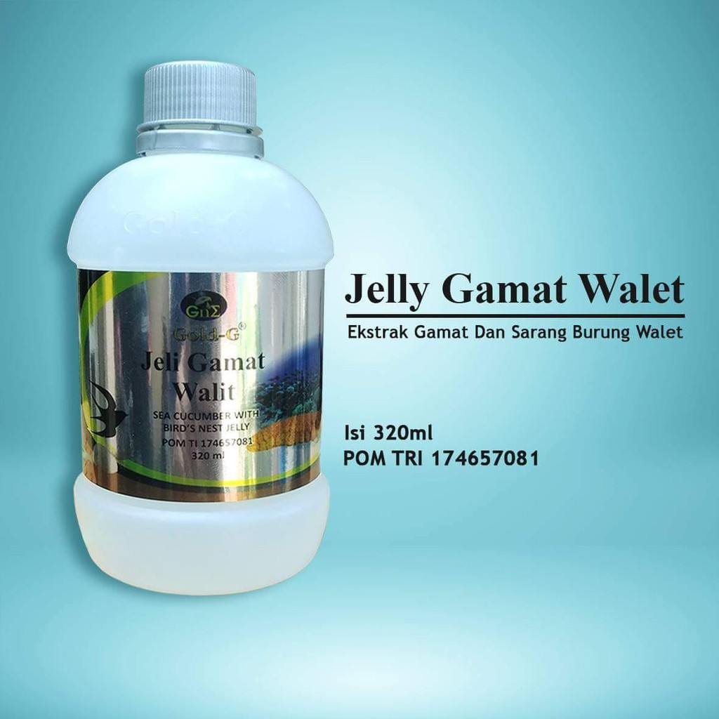 Herbal Jelly Gamat Gold G Sea Cucumber Isi 320ml Spec Dan Daftar 500 Ml Jely Original Shopee Indonesia