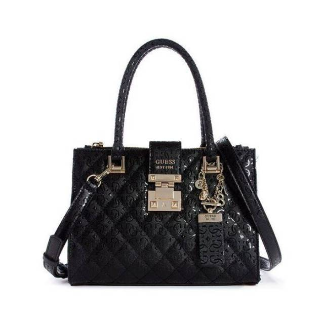 Guess Bag Black Original Shopee Indonesia