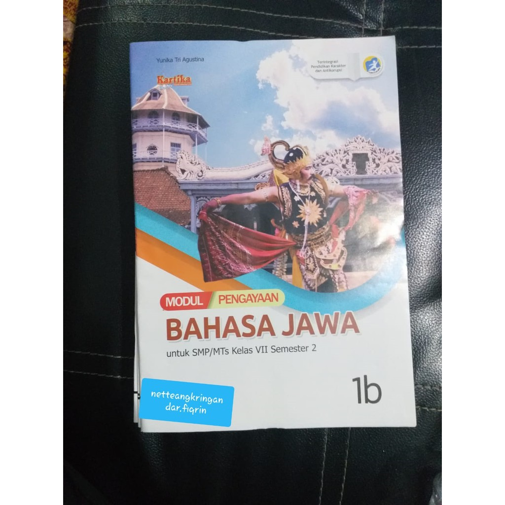 Lks Bahasa Jawa Smp Mts Kelas 7 8 Rev 2017 Kls 9 Rev 2018 Smtr 2 K13 Baru Top Shopee Indonesia