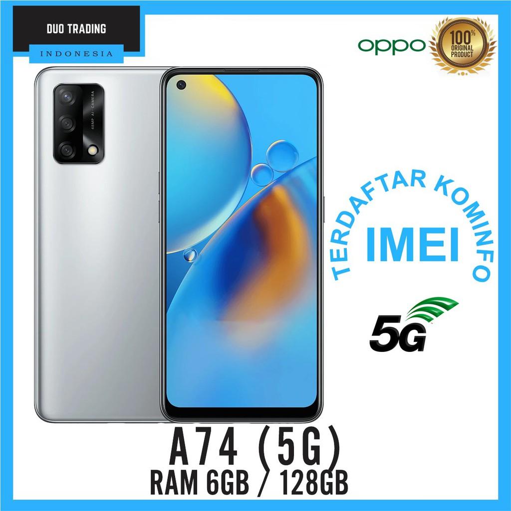 OPPO A74 5G RAM 6GB ROM 128GB GARANSI RESMI OPPO