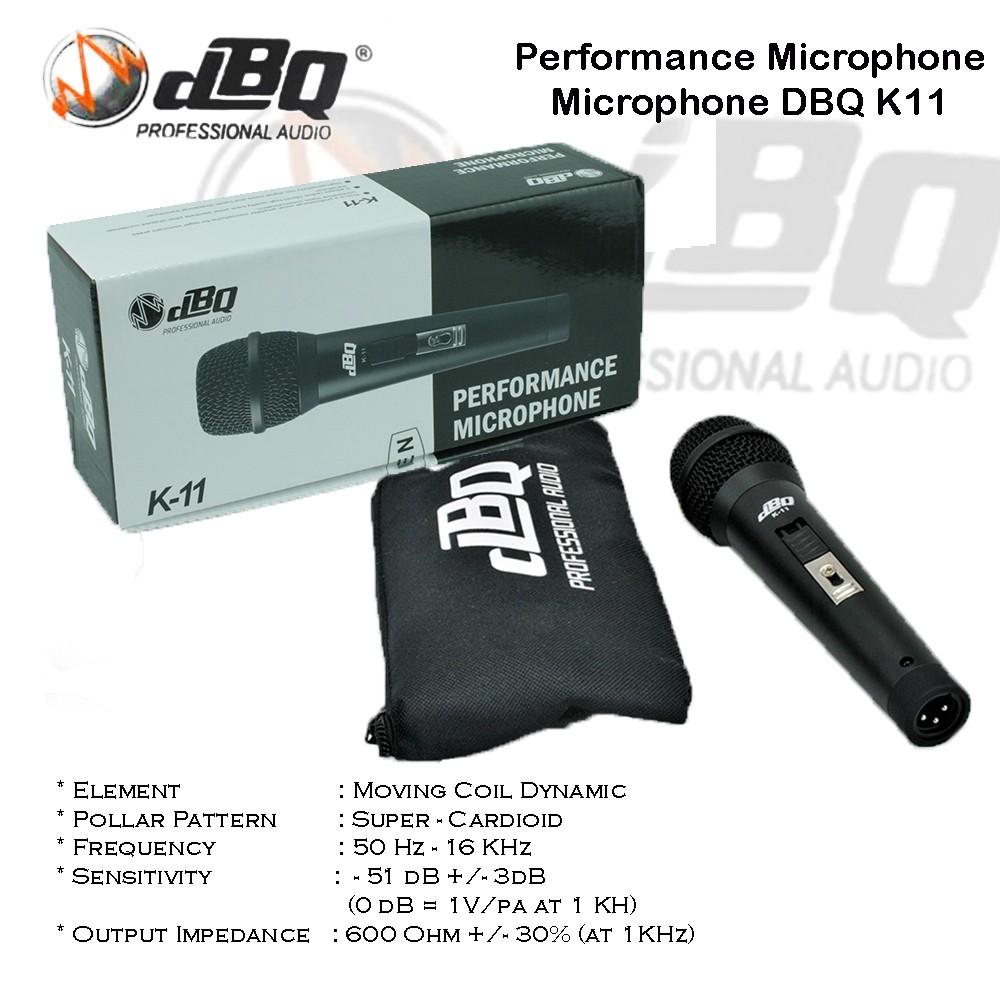 Microphone DBQ K11 / Mic DBQ K11 Performance Vocal Microphone