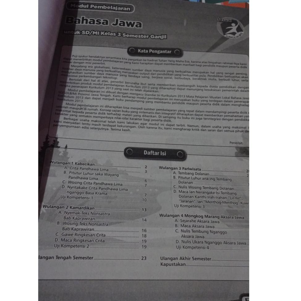 Kunci Jawaban Tantri Basa Kelas 2 Sd Hal 10