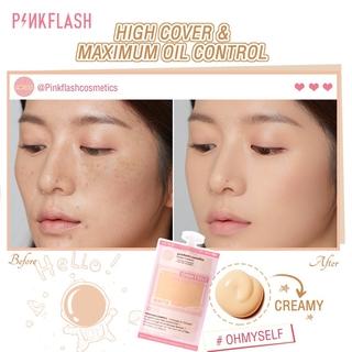 Pinkflash Ohmyself Foundation Matte Tahan Lama Untuk Semua Hari 4