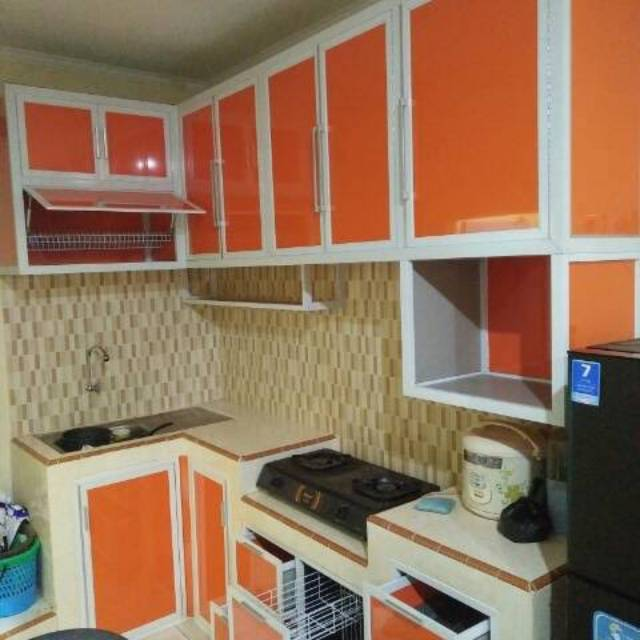 Kitchen Set Alumnium Acp Shopee Indonesia
