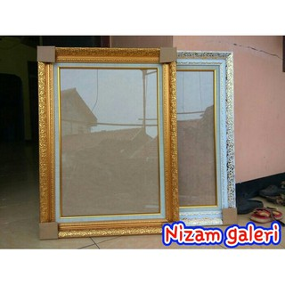frame figura bingkai foto wedding prewedding gold 17r 12r 30x40 cm shopee indonesia frame figura bingkai foto wedding