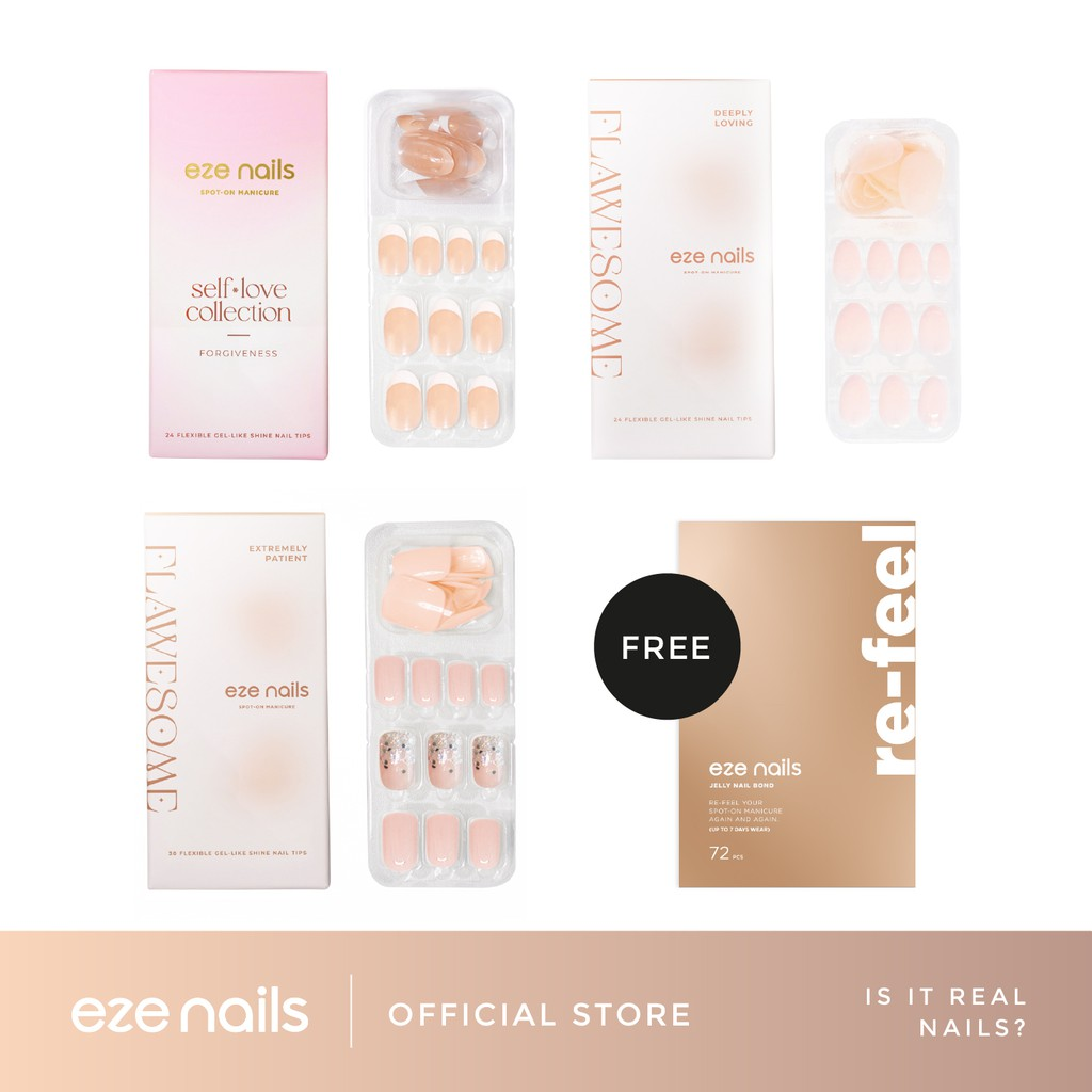 IS IT REAL NAILS? – Eze Nails Bundling