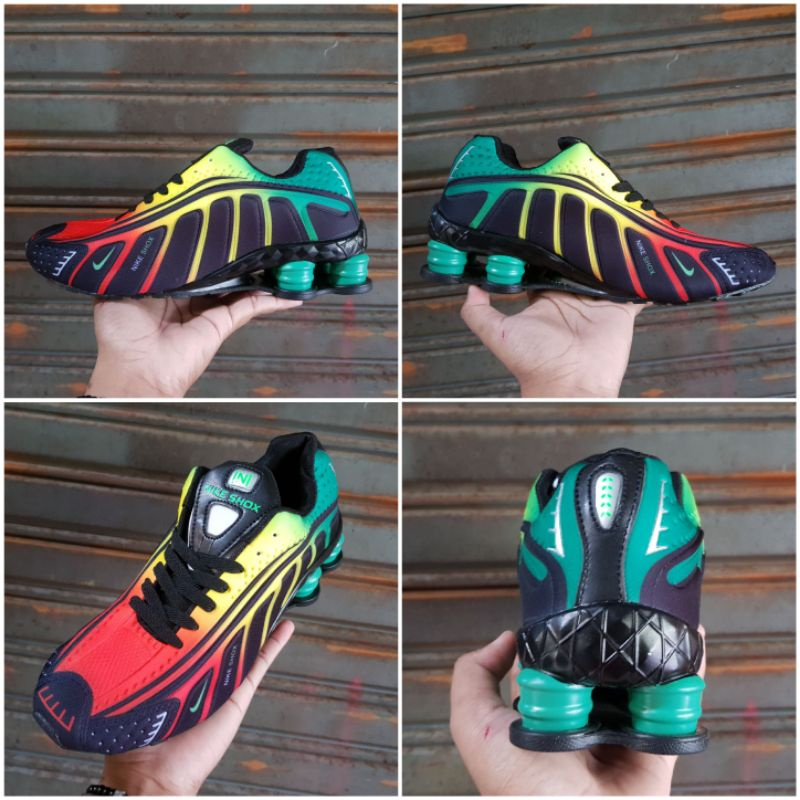 Sepatu Nike Shox Multicolor