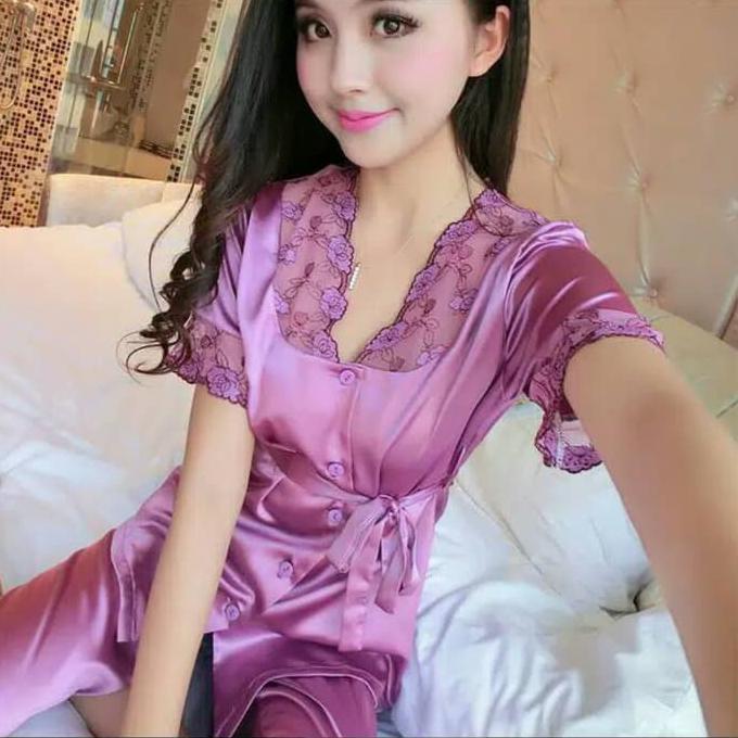 baju tidur satin - Temukan Harga dan Penawaran Baju Tidur Online Terbaik -  Pakaian Wanita Februari 2019  e4c0a399dd