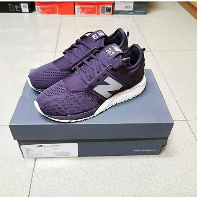 Sneakers sepatu wanita NEW BALANCE 247 CLASSIC VIOLET WOMEN