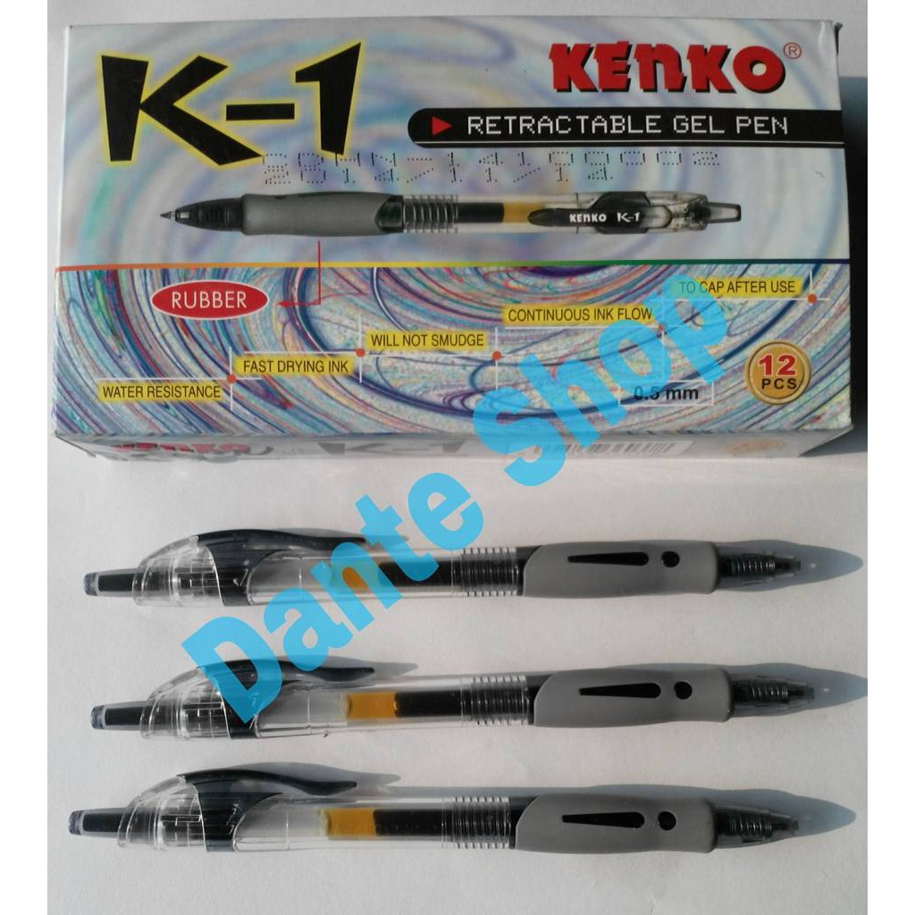 Bulpen Pulpen Pen Kd 70 Kenko Pcs Shopee Indonesia Joyko Gel Gp 181 Batique 12 Tinta Hitam
