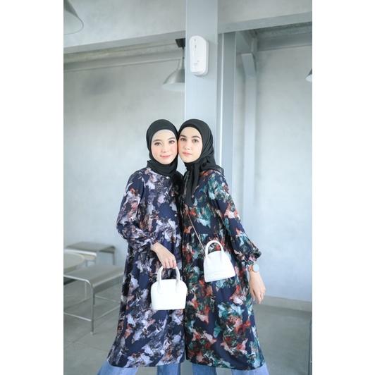 Abstract Tunik Butik chlaris