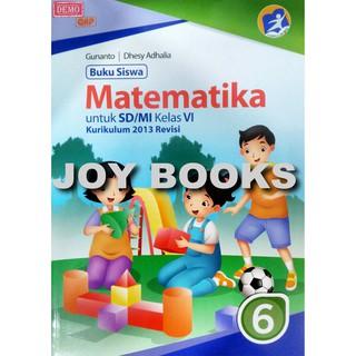 Buku Matematika Kelas 6 Sd Mi Gelora Aksara Pratama Shopee