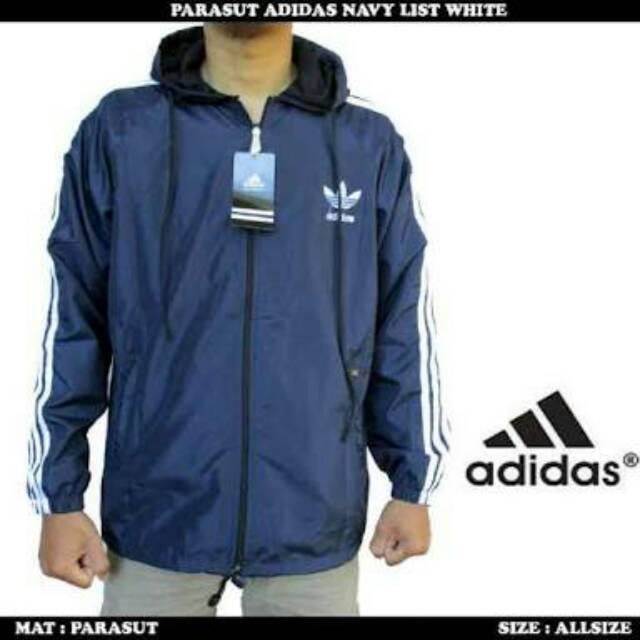 Jaket playmaker adidas   jaket parasut adidas ada 4 warna  f8a7e90afa