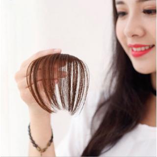 Bangs Clip hair Clip Thin Korean Cheap Korea Poni Palsu Poni Tipis Rambut Palsu Wig Tipis Korea Tidak Terlihat Tanpa Jejak 8
