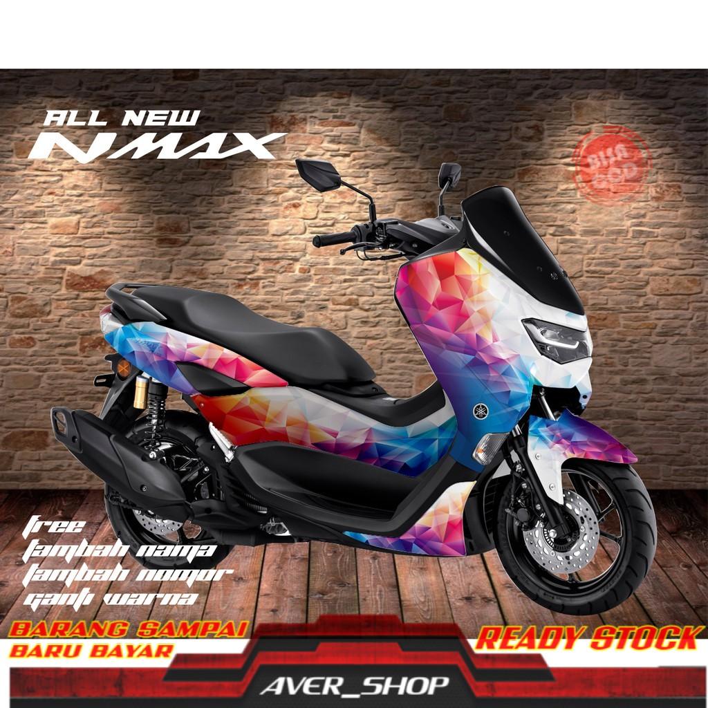Decal new nmax full body Striping motor nmax 2020 full body Stiker motor variasi