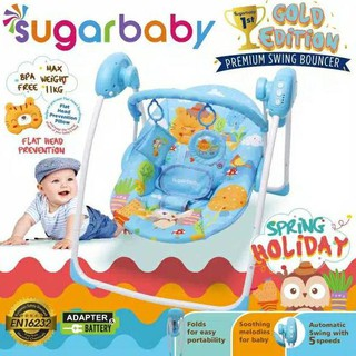 [Bouncer Bayi Indonesia] SWING BOUNCER Elektrik Baby Sugar