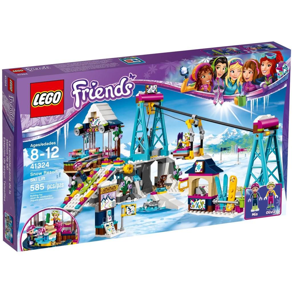 Fid368 Lego Friends 41322 Snow Resort Ice Rink Shopee Indonesia