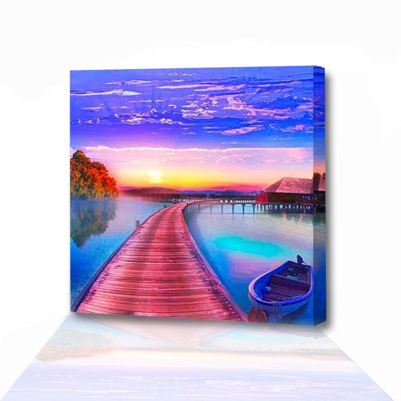 7800 Koleksi Gambar Rumah Dan Pemandangan Lukisan HD Terbaik