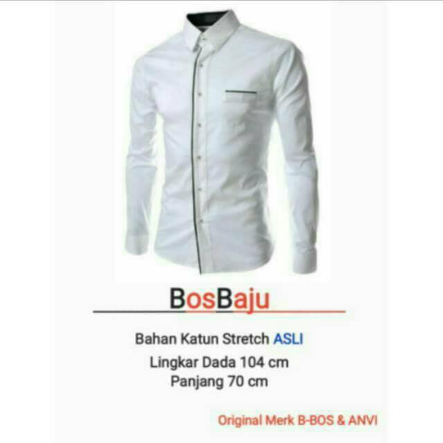 BosBaju - Alvaro Maroon Kemeja Pria Lengan Panjang Kantong Simple Basic Miller (8 warna)BEST SELLER | Shopee Indonesia