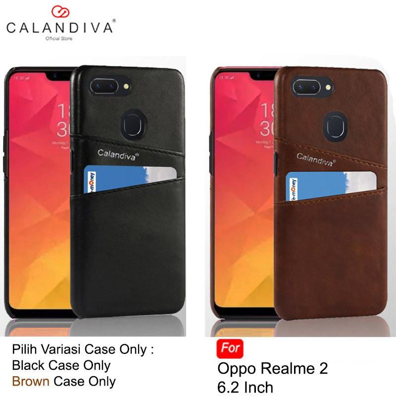 Calandiva Case Oppo A3s , Realme C1 (6.2 Inch) (sama) Casing Ultimate