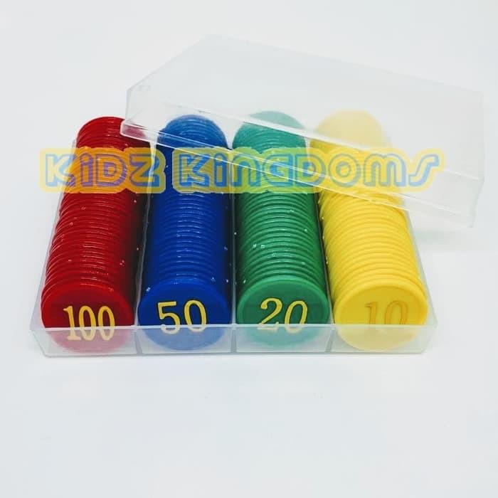 Jual Poker Chips Set Mainan Chip Poker Chip Chips Poker Isi 160 Murah Shopee Indonesia
